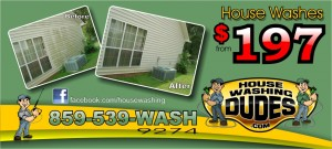 House Washing Lexington KY